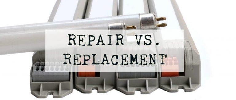 Ballast Repair vs Replacement