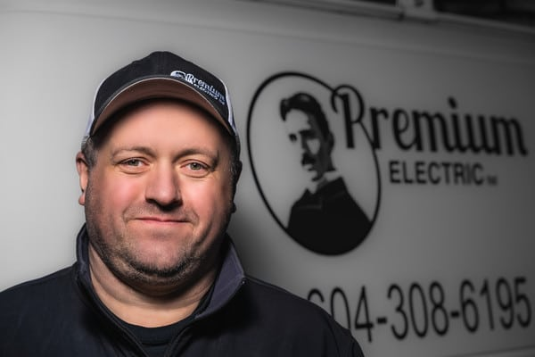 Headshot of Gord from Premium Electric, Abbotsford