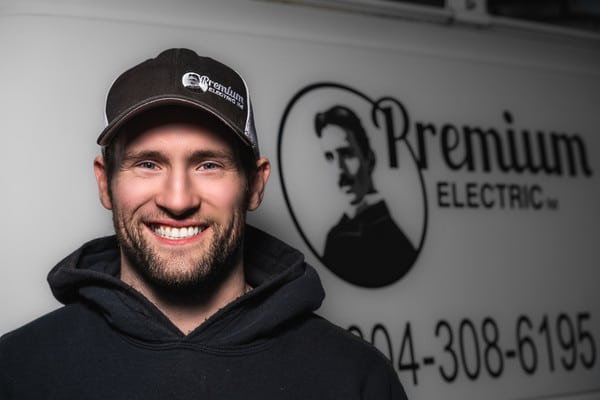 Headshot of Nathan from Premium Electric, Abbotsford